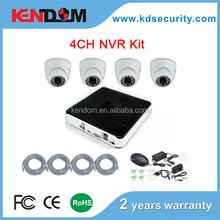 1080P HD 2MP NVR Kit Built-in PoE Switch HD Cameras CCTV kit complete full 1080p 4CH 2 megapixel IP camera NVR Kit