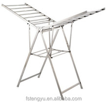 High quality free standing stainless steel clothes drying rack laundry dryer
