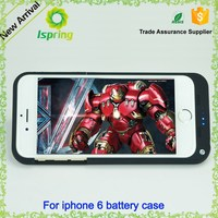 hot selling case For iPhone 6 cell phone battery charger