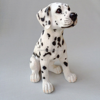 Cuty Resin spotty dog statue, Dog figurines, Arts & crafts Dogs ornaments