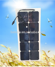 import from china pv supplier 30 w solar flexible panel for yacht