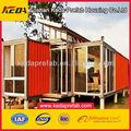 / Contenedores viviendas estructura de la casa / Acero contenedores Estructura Acero Panel Sandwich Prefab Container House