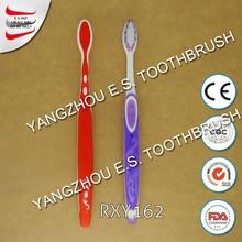 Fantastic Patterns printed handle soft bristle human toothbrush