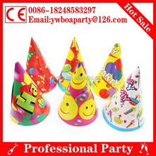 disposable paper cap and hat for birthday party