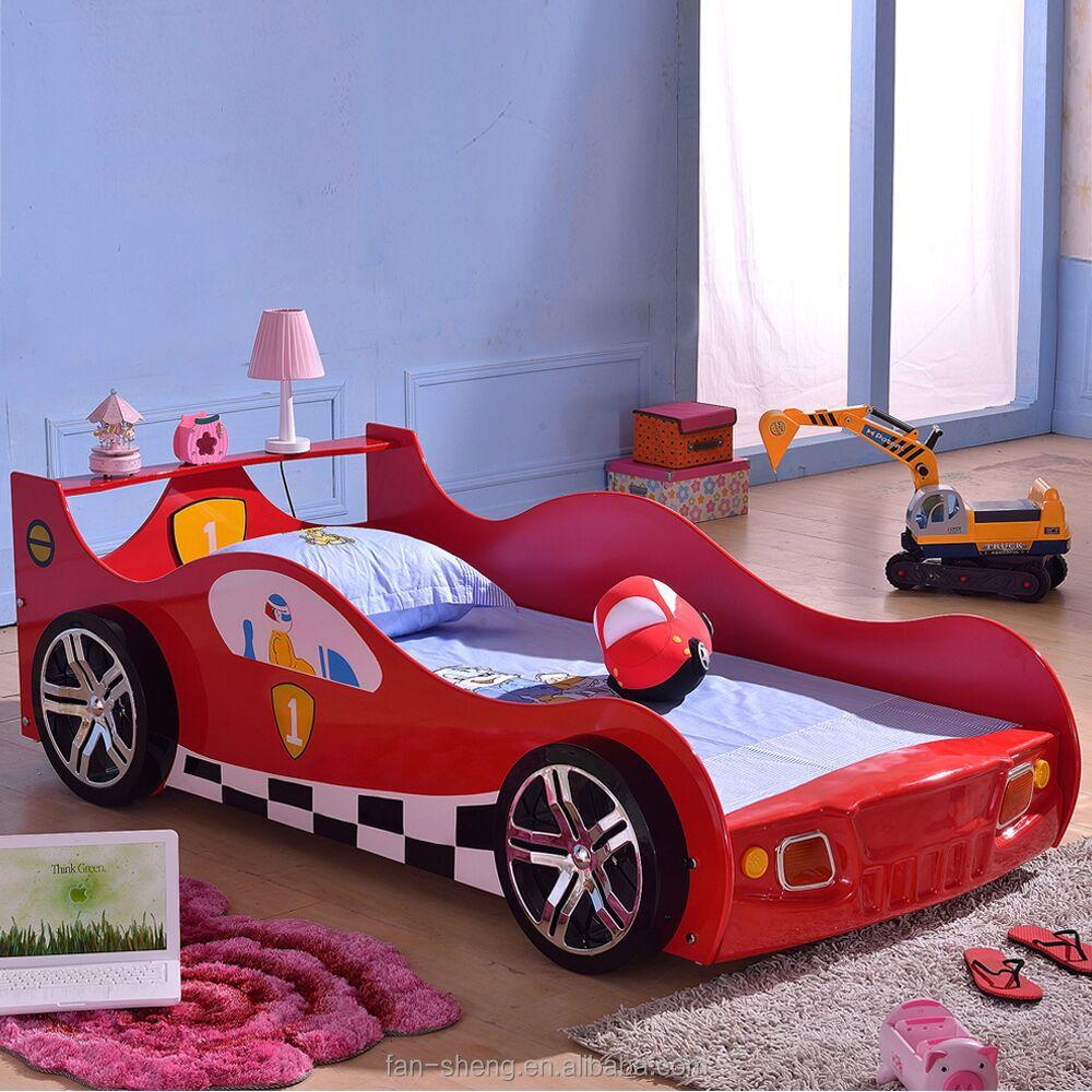 Racewagen bed, auto kinderen meubelen bedden, slimme kinderen ...