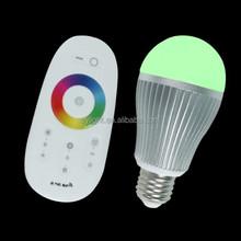 RGB LED Bulb 6W 9W E27 E26 B22, Smart RGB LED Bulb Light WiFi. AC85-265V