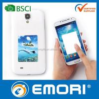 Custom microfiber adhesive mobile phone sticky screen cleaner