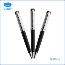 Sliver new arrival heavy stainless steel wire braid metal pen