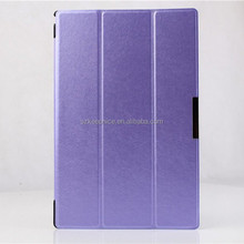 3 Folding Waterproof Leather Tablet Cover Cases for Sony,for Sony Tablet Z2 Case