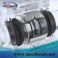 M74D mechanical seal replace burgmann M740-D,rotating multiple springs dual seal