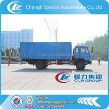 commercial trucks and vans,10 tons dry van truck insulated box truck
