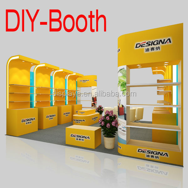 Trade Show Booth With Shelves : Portable trade show booth with shelf buy