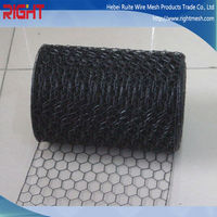 Quality Products PVC Coated Hexagonal Wire Nettingg, Hexagonal Chicken Wire