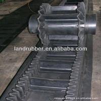 steeply belt raised edge conveyor belt Sidewall corrugated Conveyor Belt