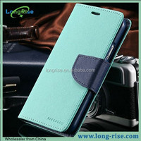High Quality Mercury Goospery Wallet Flip Cover for Samsung Galaxy S5 Leather Case