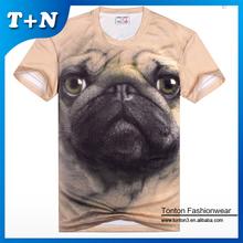 polo branded organic cotton t shirt 3d printing t-shirt