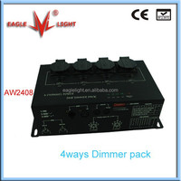 4ways dmx dimmer pack high quality dimmer controller