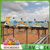 Theme park roller coaster luxury outdoor playground equipment for sale