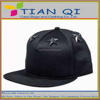 hot selling product blank 5panel caps with five stars on the top