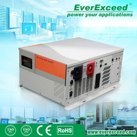 EverExceed 3000W Pure Sine Wave Solar Inverter combined inverter & charger