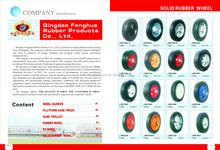 solid rubber tyre for rubber wheel 3.00-4