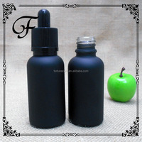 30ml forsted glass cosmetic lotion bottle with pump and cap frosted glass dropper bottle