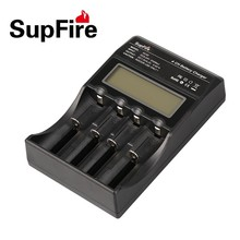 SupFire Intelligent Four-Slot Charger Use For 18650/16340/ 26650 Battery