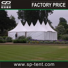 3X3m,4x4m,5x5m pagoda tents with PVC sidewalls and opaque PVC roof