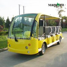 14 eléctrico del asiento de lujo de china autobuses usados dn-14 con el certificado del ce