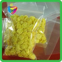 2015 Yiwu free samples hot sale double zip lock bag