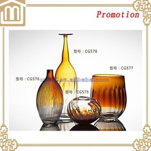 Best Selling difference type Glass Vase/Glassware