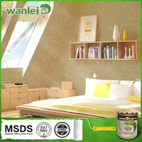 Easy constructed decrease pollution interior wall glitter paint
