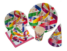 Eco Friendly Round Paper Plate,paper plate set