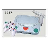 8 bit video game set built in game with two joystick, factory supplier
