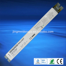 T8 4x18w electronic ballast for louver fluorescent lamp fixture