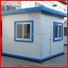 Modular cabin house for guard or policeman