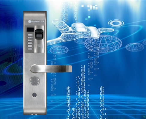 empreintes digitales porte clé de verrouillage de sécurité
