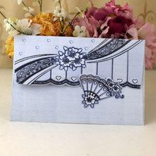 Top grade best sell hot selling oriental wedding card