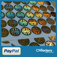 high quality hologram, customized hologram sticker, laser anti-counterfeit labels/trademark