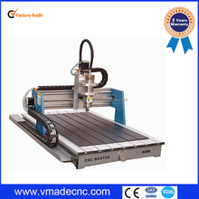 advertising board cnc router 0609 for pvc//wood/acrylic/board engraving and cutting machine