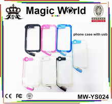 for iphone 5 case with usb