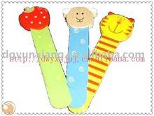 2014 animal head children wooden bookmark