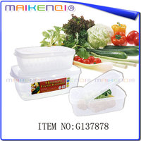 Fashion Designer Excellent Material Large Plastic Food Container