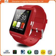2015 shenzhen cost smart watch mobile phone u8 alibaba express