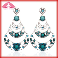 Top sell multi drop big jhumka earrings for party girls(QXER15178)
