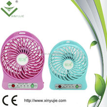 5V 1A Adapter More Choices of Adapter & Rechargeable Battery Provided Ideal for Hot Summer Outdoor Travelling fan