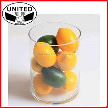 2015 NEW design lifelike Artificial Yellow Lemons,Faux Fruit for Decoration