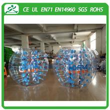 Popular and Crazy bumper ball ,human bubble ball