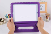 New Arrival Hot Colorful Kids Shockproof EVA Tablet Cover Case Stand Handle for iPad 2