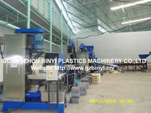 Waste Plastic PET scrap recycling line, washing machine line, recycling machine equipment